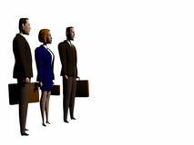 Squadra di affari globali ai succes. Fotografia Stock Libera da Diritti