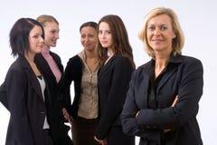 Squadra di affari in ufficio Fotografia Stock
