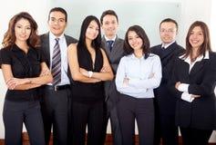 Squadra di affari in un ufficio Immagine Stock Libera da Diritti