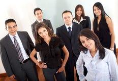 Squadra di affari in un ufficio Fotografia Stock Libera da Diritti