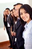 Squadra di affari in un ufficio Immagini Stock Libere da Diritti