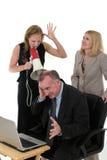 Squadra di affari Under Pressure Immagini Stock
