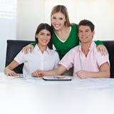 Squadra di allievi che imparano colore Immagine Stock