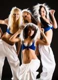 Squadra di ballo Immagine Stock