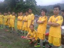Squadra di calcio Immagini Stock