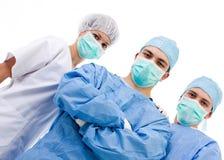 Squadra di chirurghi Fotografie Stock