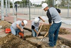 squadra di costruzione Fotografia Stock Libera da Diritti