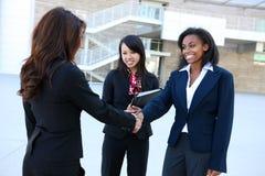 Squadra di donna varia di affari Immagini Stock