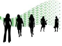 Squadra di donne Immagine Stock Libera da Diritti