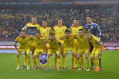 Squadra di football americano del cittadino della Romania Immagine Stock