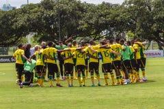 Squadra di football americano di Bafana Bafana   Fotografia Stock