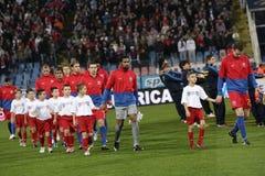 Squadra di football americano di Steaua Fotografia Stock
