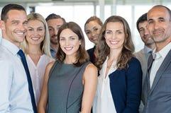 Squadra di gente di affari fotografie stock libere da diritti