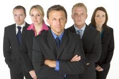 Squadra di gente di affari Immagine Stock