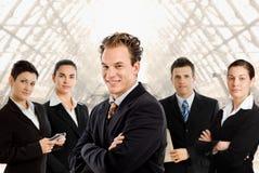 Squadra di gente di affari immagini stock