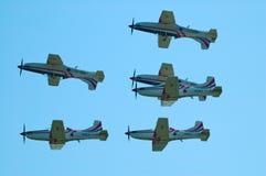 Squadra di Krila Oluje - Radom Airshow - Polonia Immagini Stock Libere da Diritti
