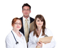 Squadra di medici Fotografia Stock