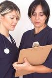 Squadra di medici fotografie stock