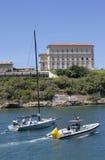 Squadra di Ngoni che lascia il porto di Marsiglia Immagine Stock Libera da Diritti