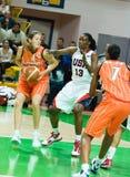 Squadra di pallacanestro delle donne S.U.A. fotografie stock libere da diritti