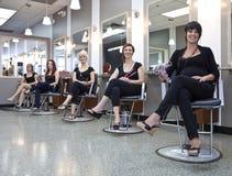 Squadra di parrucchieri Fotografia Stock Libera da Diritti