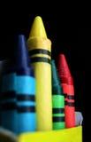 Squadra di pastelli Fotografia Stock Libera da Diritti