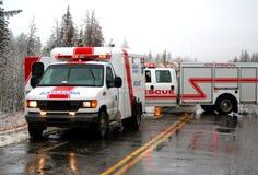 Squadra di risposta di emergenza Fotografia Stock