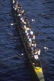 Squadra di Rowers femminili Immagini Stock Libere da Diritti