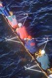 Squadra di Rowers maschii, Fotografia Stock Libera da Diritti