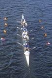 Squadra di Rowers maschii Immagine Stock Libera da Diritti