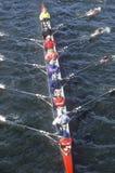 Squadra di Rowers maschii Fotografie Stock Libere da Diritti