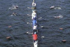 Squadra di Rowers maschii Fotografie Stock