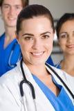 Squadra di sanità Fotografia Stock Libera da Diritti