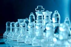 squadra di scacchi Fotografie Stock