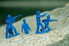 Squadra di schiaffo della polizia Fotografia Stock