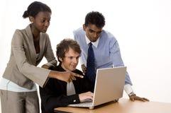 Squadra di tecnologia Immagine Stock
