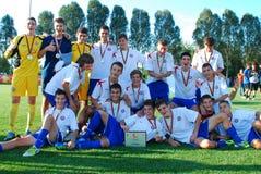 Squadra di U-17 Hajduk Fotografia Stock
