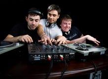 Squadra DJ Fotografie Stock