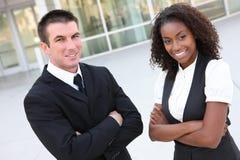 Squadra etnica di affari Fotografie Stock