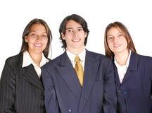 Squadra fiera di affari Fotografie Stock