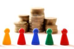 Squadra finanziaria di consiglio Immagine Stock Libera da Diritti