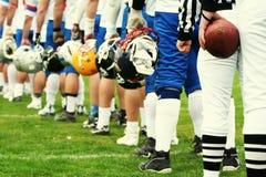 SQUADRA - football americano Fotografie Stock Libere da Diritti