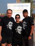 Squadra General Motors UAE della maglietta della volpe del Terry immagine stock libera da diritti