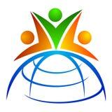 Squadra globale Immagine Stock
