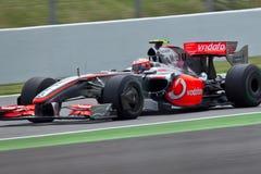 Squadra McLaren fotografie stock libere da diritti