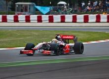 Squadra McLaren immagini stock