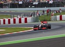 Squadra McLaren immagine stock