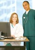 Squadra medica del personale Immagini Stock Libere da Diritti