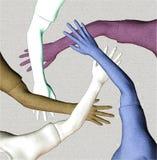 Squadra Multiracial Immagine Stock