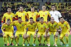 Squadra nazionale rumena Immagini Stock Libere da Diritti